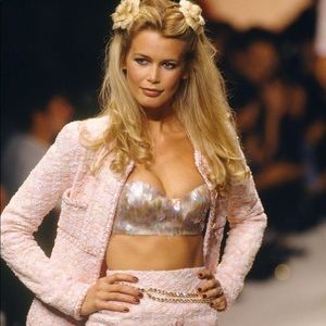 Iconic Chanel Vintage Spring 1995 Pink 95P Bra Top